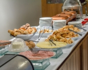 Café da manhã Gran Executive Hotel Uberlândia